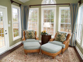 Bright Sunroom — Stock Photo