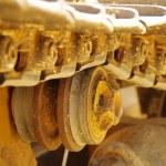 Bulldozer Detail 4 — Stock Photo