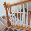 Stock Photo: Carpeted Stairs Vertical