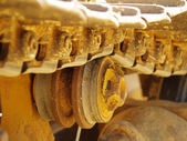 Bulldozer Detail 4 — Stockfoto