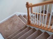 Carpeted Stairs — Stock Photo