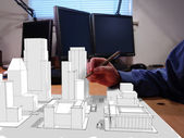 City Designing — Stock Photo