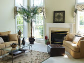 Comfortable Family Room — Photo