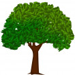 Royalty-Free Stock Vector Image: Green tree