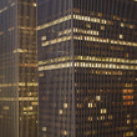 New York Skyscrapers at night — Stock Photo #2567757