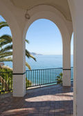 View of the Mediterranean Sea , Nerja Sp — Stock Photo