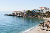 Nerja Beach Looking South — Stock Photo