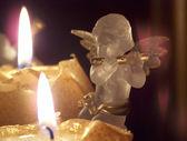 Advent angel — Stock Photo