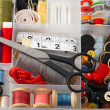 Sewing Accessories — Stock Photo