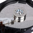Stock Photo: Reader Hard Disk