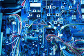 Transceiver electronic Board — Stock Photo