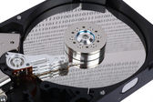Reader Hard Disk — Stock Photo