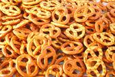 Fondo de pretzel — Foto de Stock