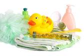 Bath Accessories Child — Stock Photo