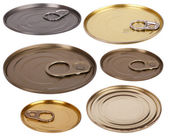 Metal lids — Stock Photo