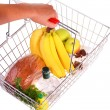 Shopping Basket of Food — Stock Photo #2622750