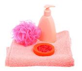 Bath accessories — Stock Photo