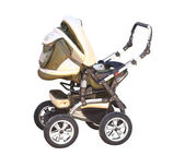 Baby carriage ( perambulator) — Stock Photo