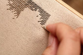 Cross-Stitch (Embroidery) — Stock Photo