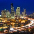Interstate 5 through downtown Seattle - Photo