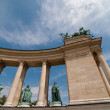 Heroes Square, Budapest — Stock Photo