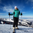 Woman on ski resort — Stock Photo #2598944