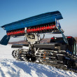 Royalty-Free Stock Photo: Piste machine (snow cat)