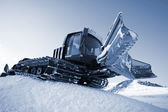 Piste machine (snow cat) — Stock Photo