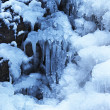 Ice fall background — Stock Photo