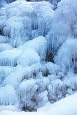 Priorità bassa caduta di ghiaccio — Foto Stock