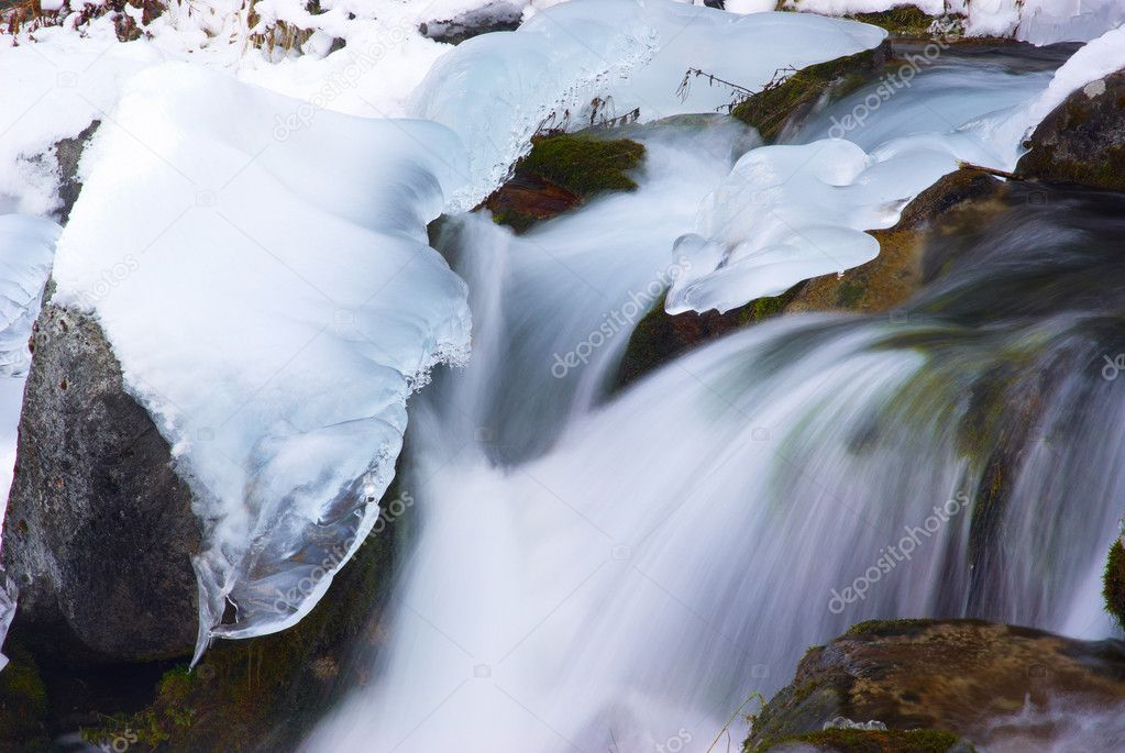 Water and ice — Stock Photo #2642474