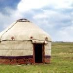 Yurt - Nomad's tent — Stockfoto