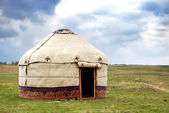 Yurt - Nomad's tent — 图库照片