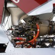 Helicopter engine — Stock Photo #2670892