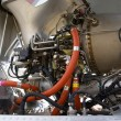 Helicopter engine — Stock Photo