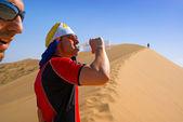 Pragnienie piasek pustyni — Zdjęcie stockowe