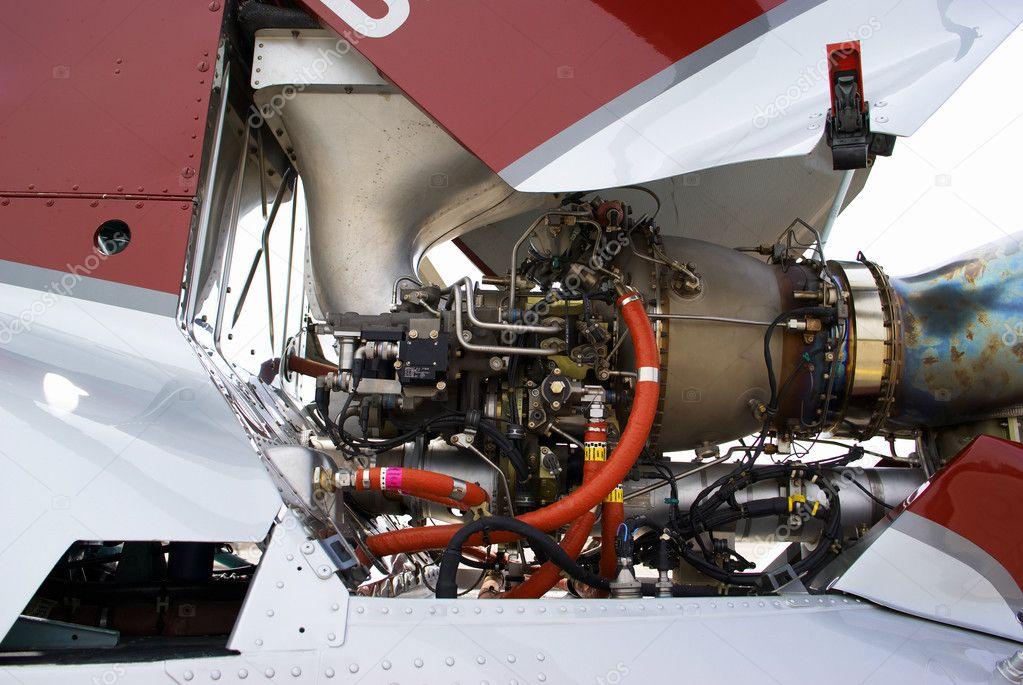 Вертолет с двигателем ваз