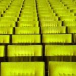 Yellow concert hall seats. — Stock Photo #2691942