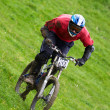Extreme downhill — Stock Photo