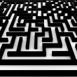 Stock Photo: Maze