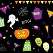 Halloween design elements and icons I — Stock Vector #2643028