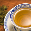 Stock Photo: A cup of herbal tea