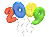 Renk hava balonları 2009 — Stok fotoğraf