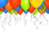 Party balloons background — Foto de Stock