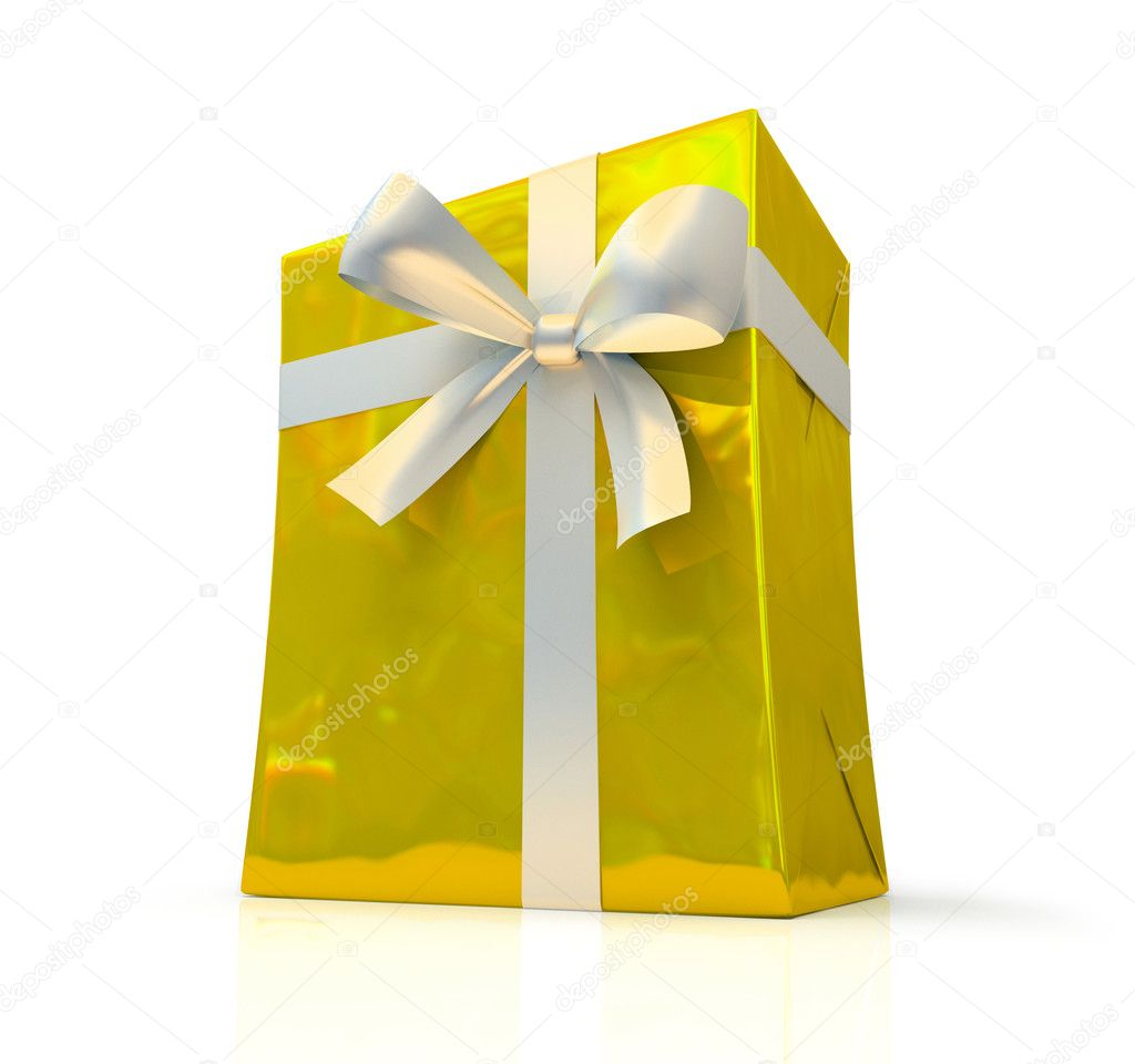 Yellow fancy box  Stock Photo #2611728