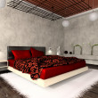 Luxurious interior of bedroom — Stock Photo