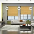 Стоковое фото: Interior of the stylish apartment