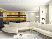 Interieur van het moderne appartement — Stockfoto