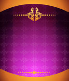 Purple.ornament.baground — Vettoriale Stock