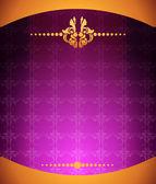 Purple.ornament.baground — Stock Vector